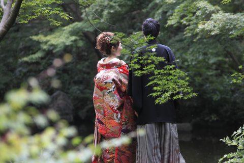 139_池田山公園和装ロケ⑥