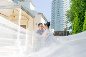 屋外(教会前) オプション+22,000円